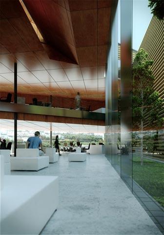 archs&graphs estudio de arquitectura jose antonio ruiz jimenez - Competition. Offices for the Treasury of the Social Security. First prize - Sanlucar la Mayor, Sevilla
