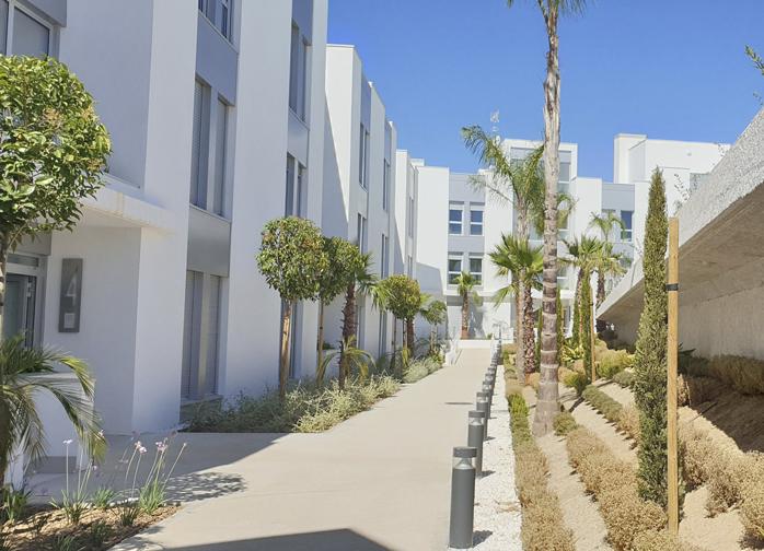 archs&graphs estudio de arquitectura jose antonio ruiz jimenez - 66 Homes in Cancelada, Estepona. Malaga. Client: Metrovacesa - Estepona, Málaga